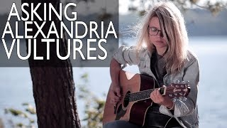 Как играть ASKING ALEXANDRIA - VULTURES (acoustic version) / Разбор + cover COrus Guitar Guide #82