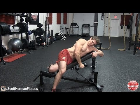 How To: Incline Single-Arm Dumbbell Raise- Posterior Deltoid Gains!