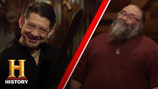 Forged in Fire: Beat the Judges: IDA SWORD SHOWDOWN (Dave Baker vs Tobin Nieto) (Season 1) | History