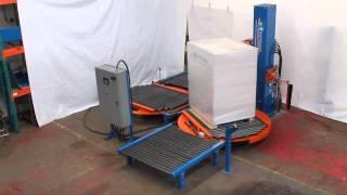 Emballeuse SOLUTECH à table tournante automatique