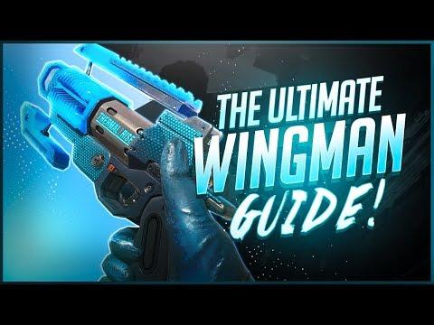 Apex Legends - Secret Wingman Aim Techniques Pro Players ABUSE (Advanced Wingman Guide)
