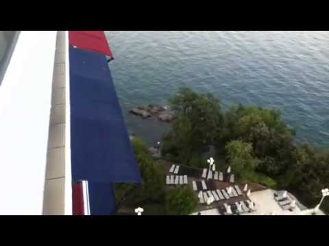 Our View From The Ambassador Hotel In Opatija (Croatia)