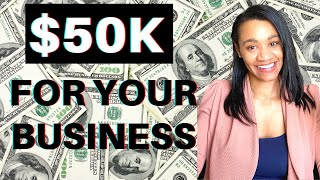 Grant and Loans For Your Small Business September 2020
