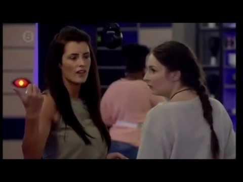 BBUK Danielle and Helen Fight