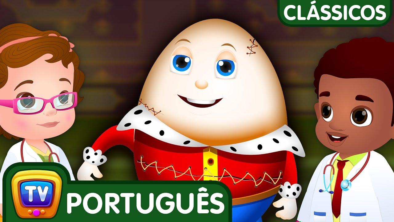 Humpty Dumpty Sentou em Um Muro (Humpty Dumpty Sat on a Wall) | ChuChuTV Clássicos