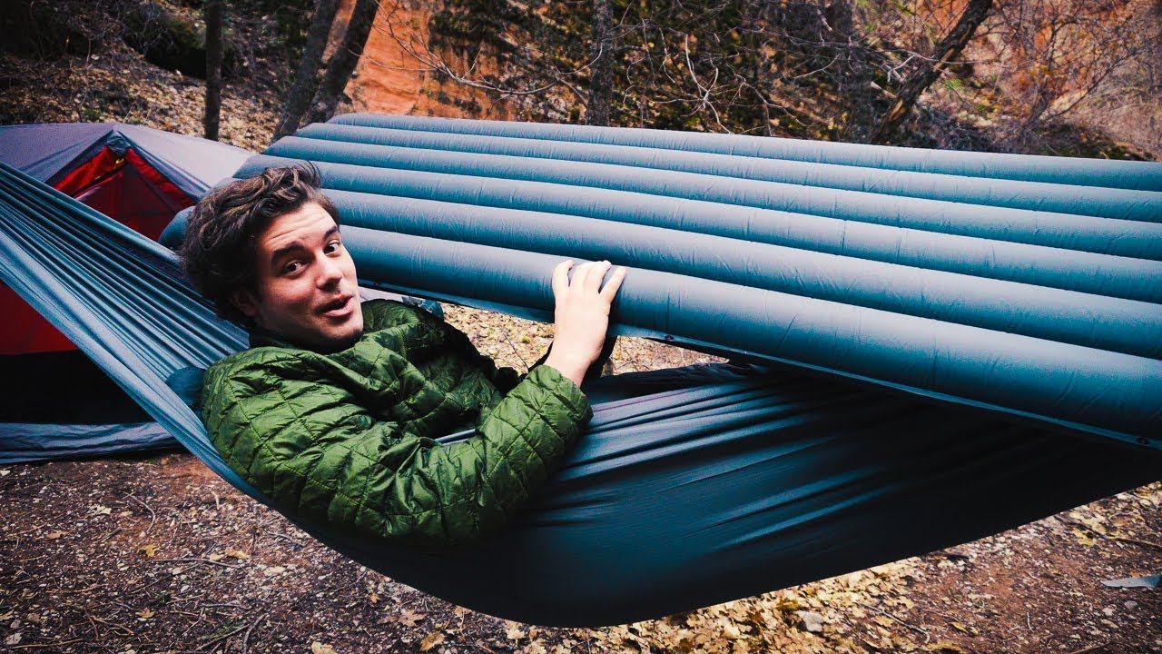 Will A Sleeping Pad Work Inside A Hammock Youtube