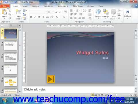 powerpoint 2010 tutorial closing presentations microsoft training
