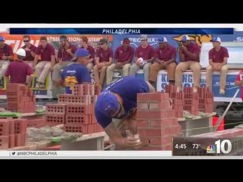 2018 SPEC MIX BRICKLAYER 500® Pennsylvania Regional Featured on NBC 10 Philadelphia
