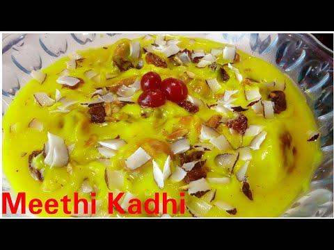 Meethi Kadhi recipe by Kitchen with Rehana