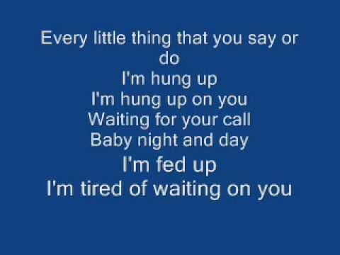 Hung Up Lyrics by Madonna