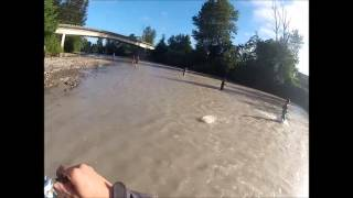 gopro pink salmon footage fishing at the puyallup river 2013