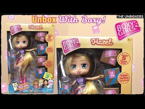 Boxy Girls Season 2 Hazel & Fashion Pack