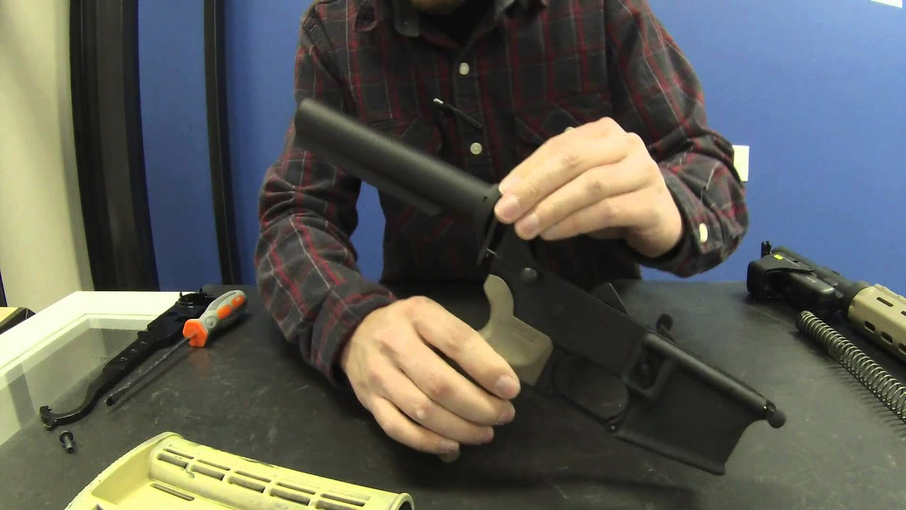 AR15 Fast Buffer Tube Install