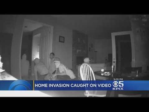 Fremont Home Invasion Caught On Camera