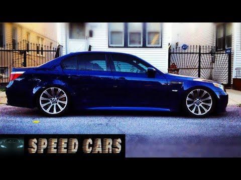 BMW E60 M5 V10 S85 Brutal Acceleration Burnout Drift And Exhaust Sound - Speed Cars