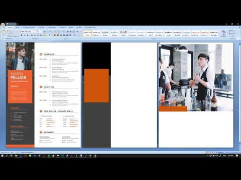 สอนทำ Resume, CV แบบดูดีง่ายๆ ด้วย Microsoft Word ไม่ต้องพึ่งโปรแกรม Adobe | EP.2