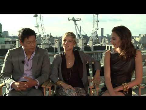 Fast & Furious 6 Interview Elsa Pataky, Sung Kang & Gal ...