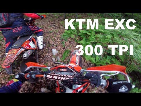 Jak Sobie Radzi KTM 300 TPI W Hard Enduro Terenie