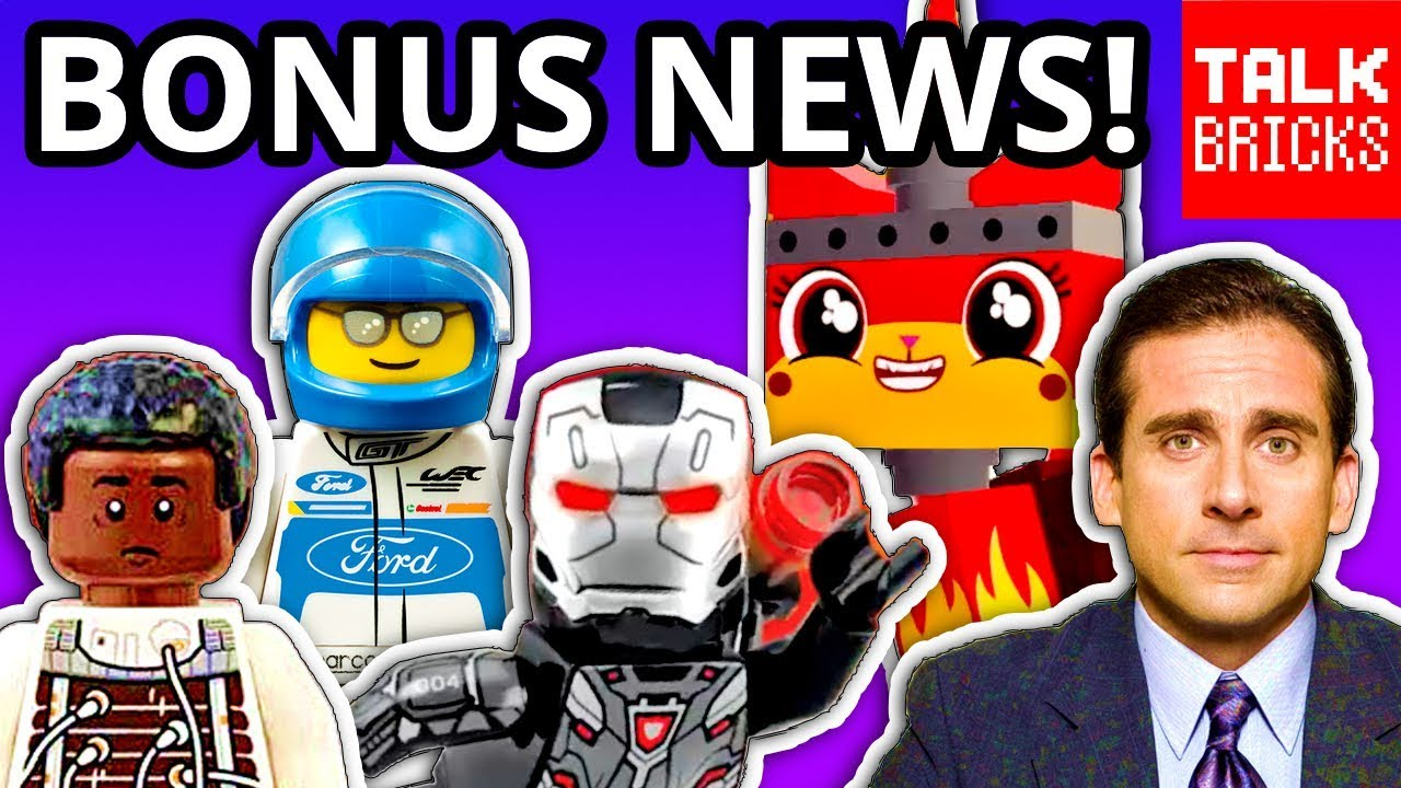BONUS LEGO NEWS! Marvel Avengers Bricktober Pack! LEGO Movie 2 Videogame! LEGO The Office?! & MO