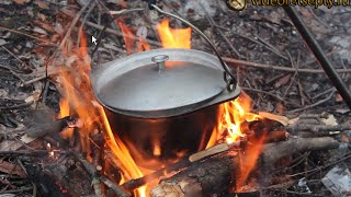 Рыбацкий суп из говяжьей тушенки / Fisherman's soup beef stew | Видео Рецепт