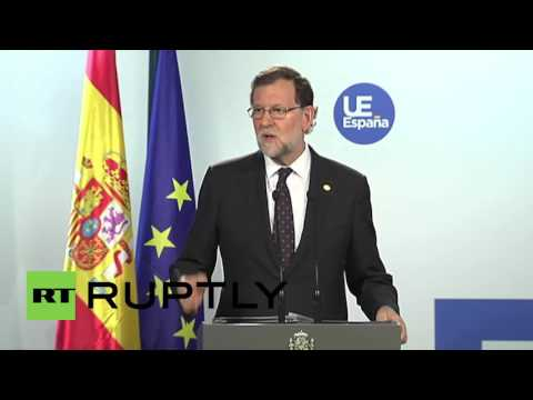 Belgium: Spanish PM Rajoy opposes EU talks with Scotland