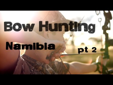 Bow Hunting Africa, Agagia Hunting Safaris (part 2 of 3)