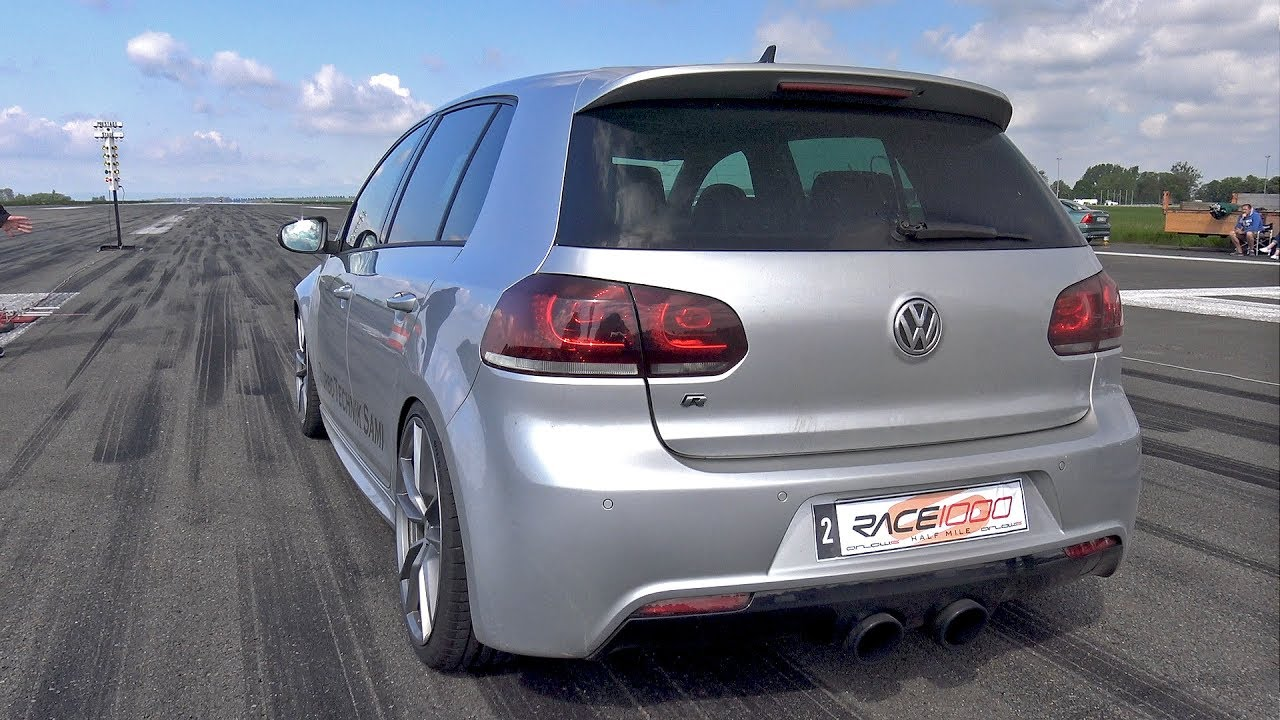 800hp volkswagen golf 6 r r32 turbo 4motion 1 2 mile drag. Black Bedroom Furniture Sets. Home Design Ideas