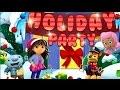 Paw Patrol, Dora The Explorer, Bubble Guppies, Wallykazam Nick Jr Game Holiday Party