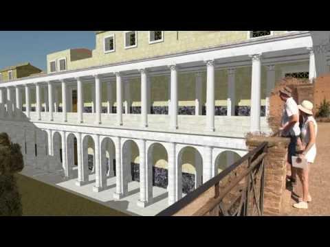 Рим восстановленный 01: Палатин и Римский форум / Rome recovered 01: Palatine Hill and Forum Romanum