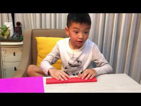 Aaron Justin Sumady shares how to make shuriken origami