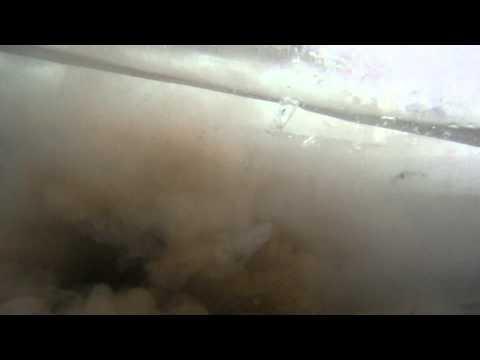 Underwater firecracker explosion GoPro HD 1080p