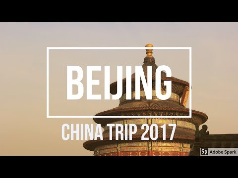 Our trip to Beijing 2017 / Teaching in China