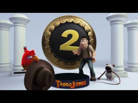Vídeo de presentación de 'Tadeo Jones 2. El secreto del Rey Midas'
