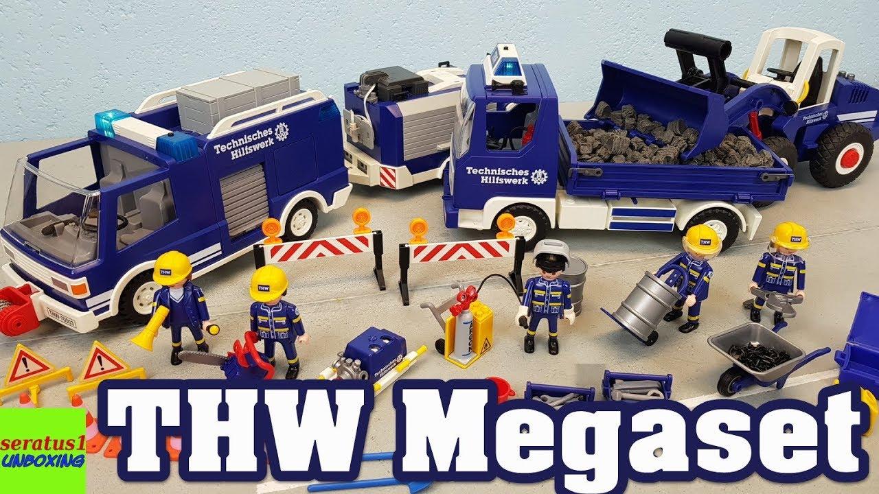 Playmobil Thw Megaset 4082 Auspacken Seratus1 Unboxing Technisches