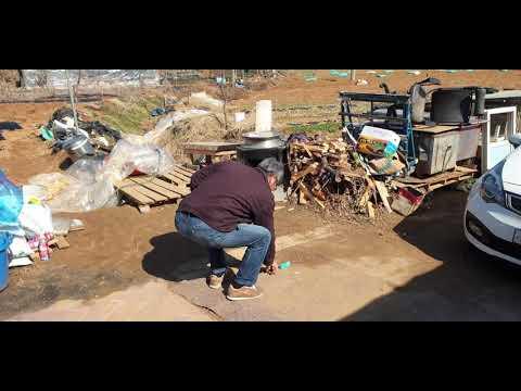 황도에 설치할 천연 우물 정수기