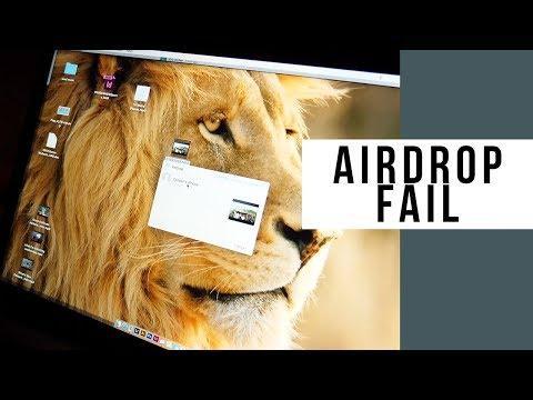 AirDrop Between MacBook Pro And iPad On Navutu Stars Yasawa Islands Resort Fiji Failed