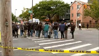 Live from Brooklyn shooting scene