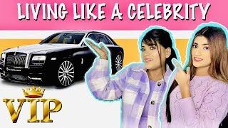 Living Like  a *CELEBRITY*  or *ACTRESS* For 24 HOURS Challenge Ft. Samreen Ali | Mahjabeen ALI