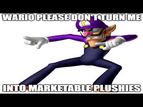 Waluigi turns into a marketable plushie but there's actual dialogue