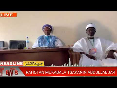 Download An Yiwa Sheikh Abduljabbar Tambaya Yace Bazai Bada Amsa Ba, Ku Kalli Bidiyon Rahoton Mukabalar