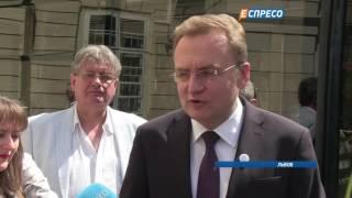 видео Автобусы Львов