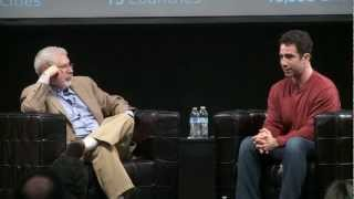 George Zachary and Steve Blank at Startup Grind 2013