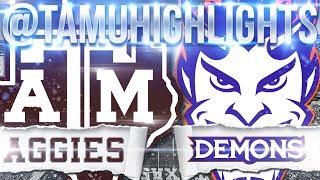 Texas A&M Highlights vs Northwestern State 08-30-2018 ᴴᴰ
