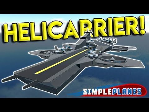 AVENGERS HELICARRIER & BEST WEAPON IN THE GAME?! - Simple Planes Creations Gameplay - EP 12