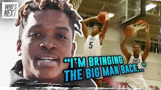 """I'm Bringing The Big Man BACK!"" IMG Academy's Armando Bacot Is The Next BEAST at North Carolina!"