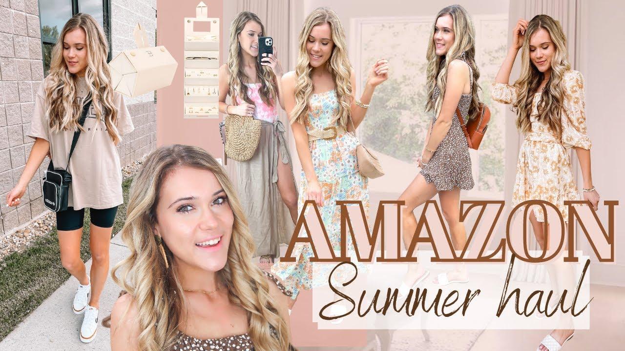 HUGE Amazon Summer Try On Haul | Amazon Outfit Ideas Summer 2021