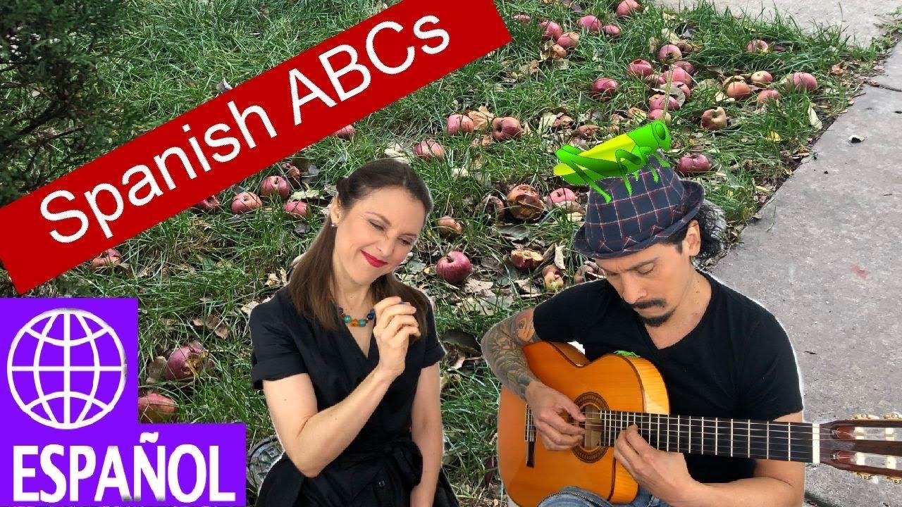 Songs for Kids Spanish Alphabet with Alina Celeste by Mi Amigo Hamlet Learn ABCs - YouTube