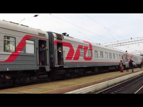 Проход Новосибирского поезда по Сковородино