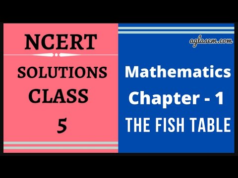 NCERT Solutions Class 5 Maths Chapter- 1 The Fish Tale
