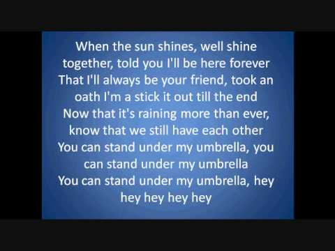 umbrella-baseballs lyrics